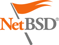 [NetBSD Flag Logo Transparent]
