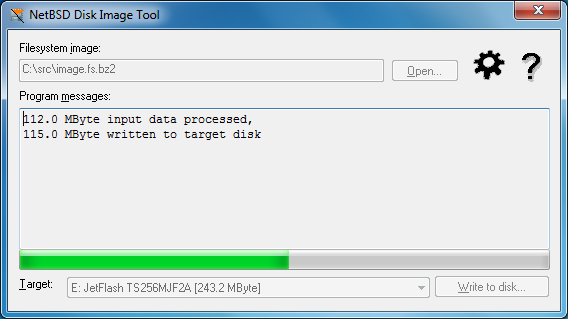 how to write img file to usb