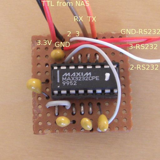 Serial adapter for 3 3V TTL