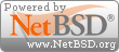 Powered by NetBSD